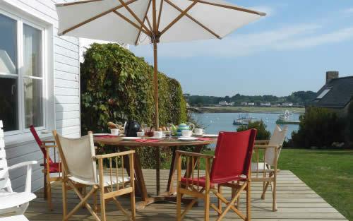Location saisonni re en bretagne la maison du passage en morbihan - Maison bretagne bord de mer ...